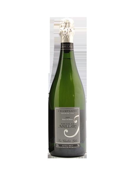 Champagne Nicolas Maillart Blanc de blancs Les Chaillots Gillis 1er Cru