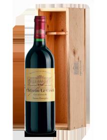 Château Le Crock Saint-Estèphe Rouge 2001 Double-Magnum - Caisse Bois d'origine d'1 Double-Magnum 3 litres