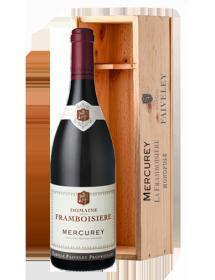 Domaine Faiveley Mercurey La Framboisière Monopole Rouge 2015 Jéroboam 3 litres - Caisse Bois d'origine