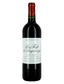 Fiefs de Lagrange 2ème vin de Château Lagrange Saint-Julien Rouge 1986