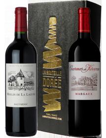 Coffret vin Bordeaux Découverte 2 bouteilles et des surprises
