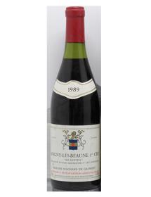 Domaine Machard de Gramont Savigny-lès-Beaune 1er Cru Les Guettes 1989