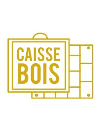 Clos Triguedina Cahors 1967 - Caisse Bois d'origine d'1 bouteille