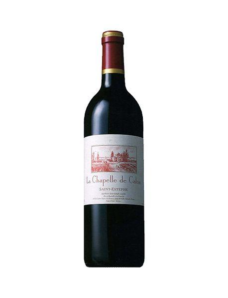 La Chapelle de Calon Saint-Estèphe 2ème vin de Château Calon-Ségur 1996