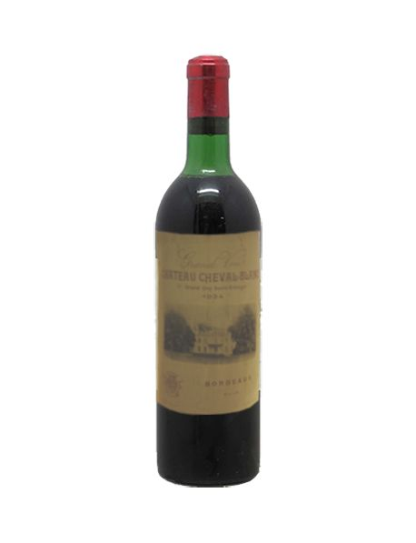 Château Cheval Blanc Saint-Emilion 1er Grand Cru Classé A 1934