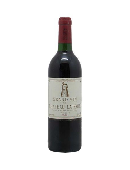 Les Forts de Latour Second vin du Château Latour Pauillac Rouge 1984
