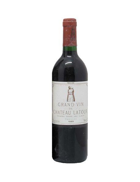 Les Forts de Latour Second vin du Château Latour Pauillac Rouge 1989