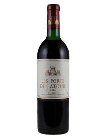 Les Forts de Latour Second vin du Château Latour Pauillac Rouge 1973