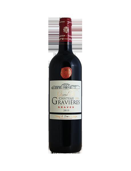 Château des Gravières Graves Rouge 2015