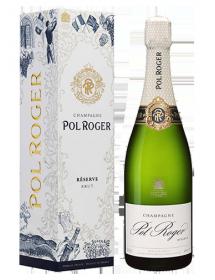 Champagne Pol Roger Brut Extra Cuvée de Réserve avec étui