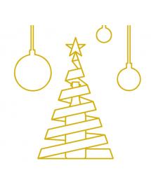 Carte message personnalisée Noël