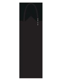 Tablier sommelier noir uni