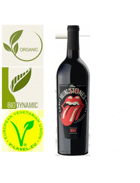 Pablo Parra-Jimenez Rolling Stones Forty Licks Merlot Organic Espagne 2017