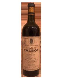 Château Talbot Saint-Julien 4ème Grand Cru Classé 1929