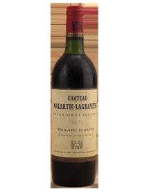 Château Malartic-Lagravière Grand Cru Classé de Graves Rouge 1975