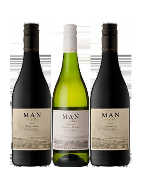 Coffret vin Afrique du Sud Découverte 3 bouteilles