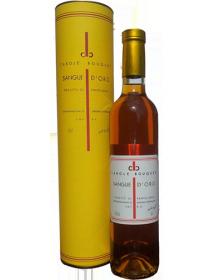 Carole Bouquet Sangue d'Oro Muscat Passito di Pantelleria Blanc Liquoreux 2012 1/2 bouteille - Avec étui