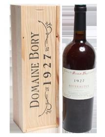 Domaine Bory Rivesaltes Rouge 1927 - Caisse Bois d'origine