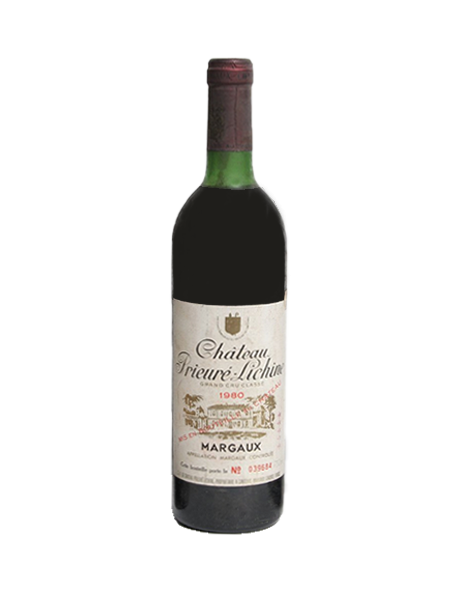 Château Prieuré-Lichine Margaux 4ème Grand Cru Classé Rouge 1980