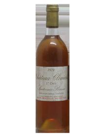 Château Climens Sauternes 1er Grand Cru Classé 1979