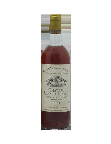 Château Rabaud Promis Sauternes 1er Grand Cru Classé 1979