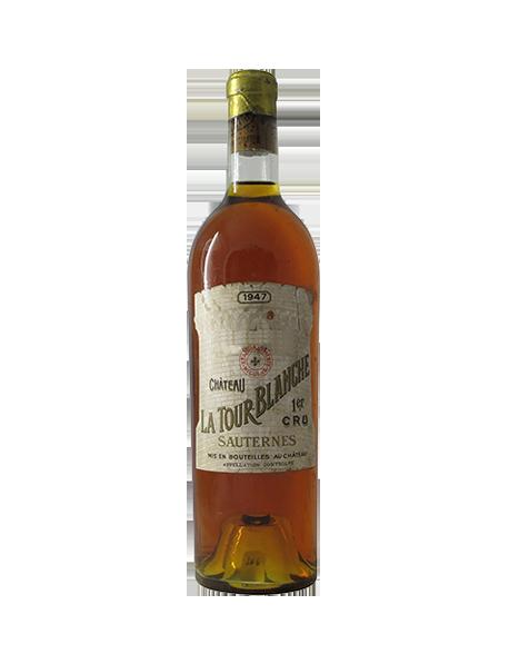 Château La Tour Blanche Sauternes 1er Grand Cru Classé 1947