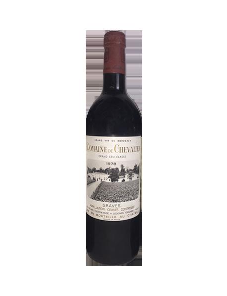 Domaine de Chevalier Pessac-Léognan Grand Cru Classé de Graves 1978