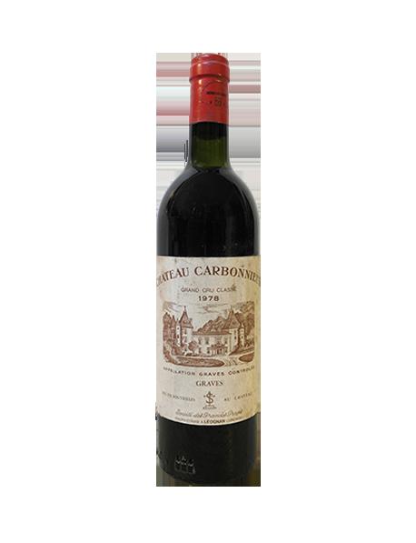 Château Carbonnieux Pessac-Léognan Grand Cru Classé de Graves Rouge 1978