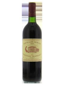 Pavillon Rouge Margaux second vin de Château Margaux 1990