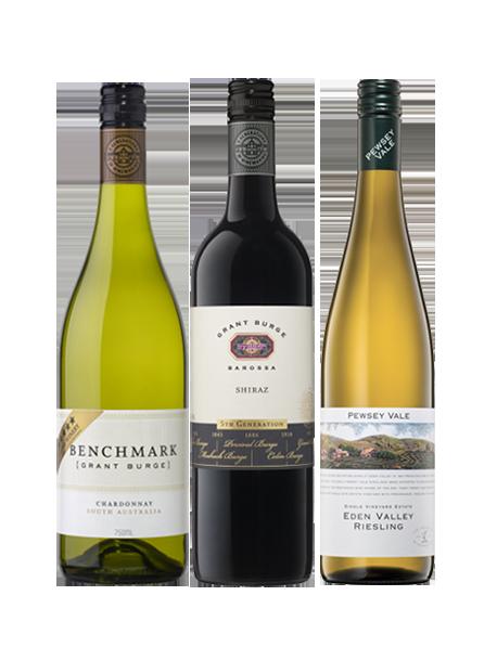 Coffret vin Australie Découverte 3 bouteilles