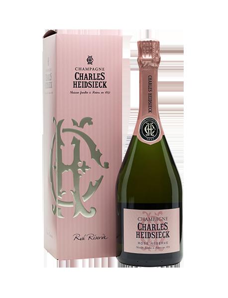 Champagne Charles Heidsieck Rosé Réserve - Avec étui