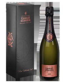 Champagne Charles Heidsieck Rosé Millésime 2005 - Avec étui
