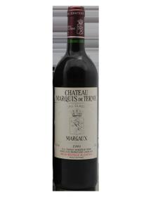 Château Marquis de Terme Margaux 4ème Grand Cru Classé 1989