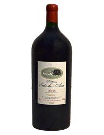 Château Patache d'Aux Médoc Cru Bourgeois Rouge 1975Impériale6 litres - Caisse Bois d'origine d'1 Impériale