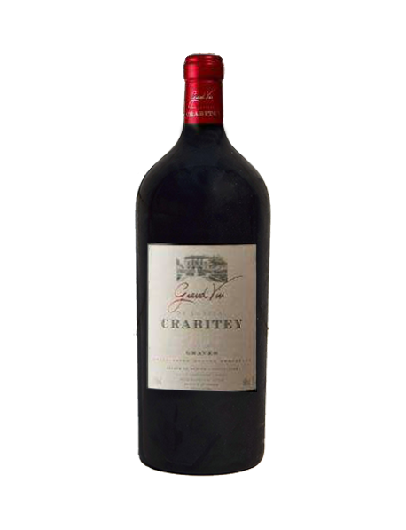 Château Crabitey Graves Rouge Impériale  6 litres - Caisse Bois d'origine d'1 Impériale