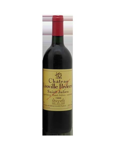Château Léoville-Poyferré Saint-Julien 2ème Grand Cru Classé Rouge 1988