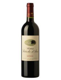 Château Patache d'Aux Médoc Cru Bourgeois Rouge 2014Double-Magnum3 litres - Caisse Bois d'origine d'1 Double-Magnum