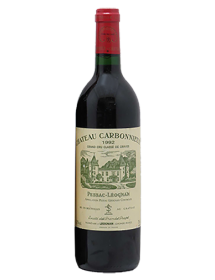 Château Carbonnieux Pessac-Léognan Grand Cru Classé de Graves Rouge 1992