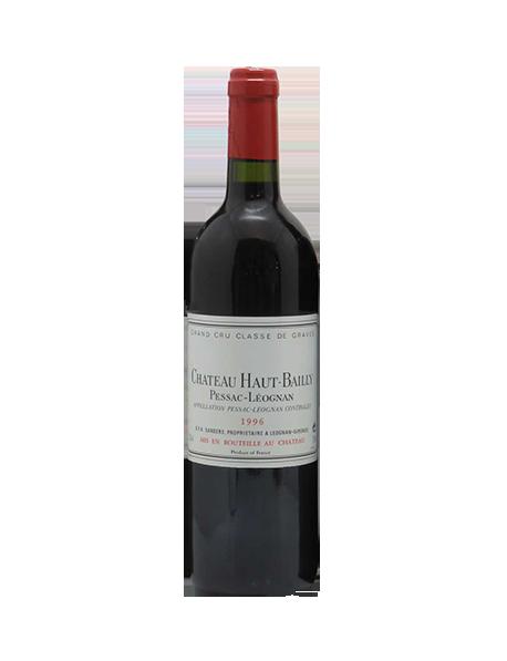 Château Haut-Bailly Pessac-Léognan Grand Cru Classé de Graves Rouge 1996