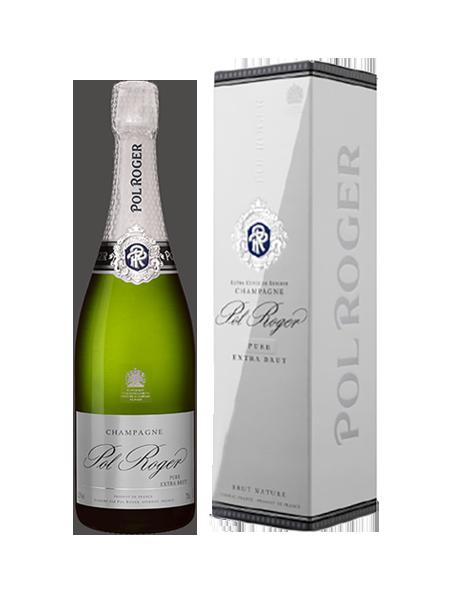 Champagne Pol Roger Pure Nature - Avec étui