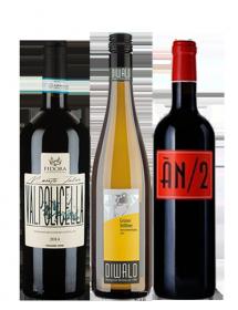 Coffret vin Europe Découverte 3 bouteilles