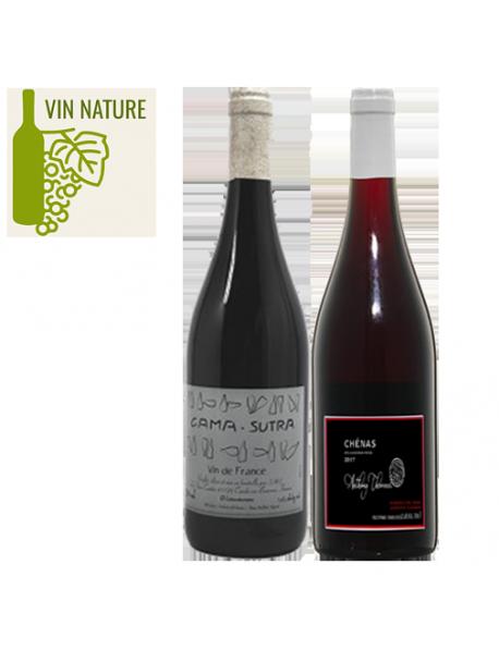Coffret vin rouge nature 2 bouteilles