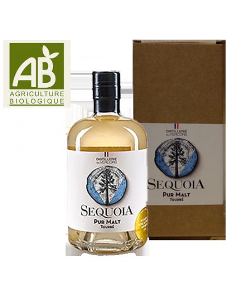 Distillerie du Vercors Whisky Pur Malt Séquoia Tourbé Bio - Avec étui