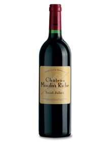 Château Moulin Riche Saint-Julien Rouge 2009