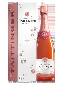 Champagne Taittinger Brut Rosé - Avec étui