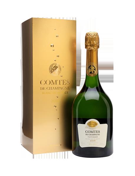 Champagne Taittinger Comtes de Champagne Blanc de blancs 2006 - Avec étui