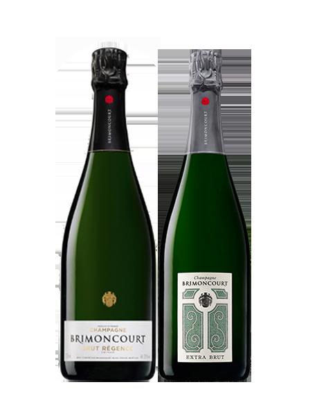 Coffret Champagne Brut et Extra-Brut 2 bouteilles