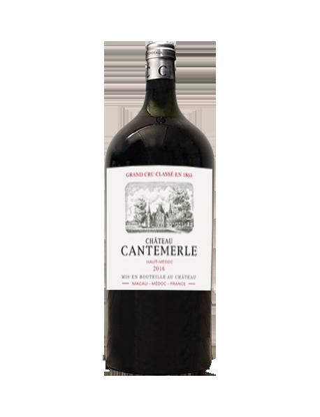 Château Cantemerle Haut-Médoc 5ème Grand Cru Classé 2016 Salmanazar 9 litres