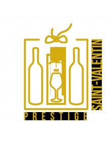 COFFRET CADEAU VIN SAINT-VALENTIN PRESTIGE 2 BOUTEILLES