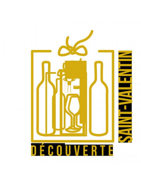 COFFRET CADEAU VIN SAINT-VALENTIN DÉCOUVERTE 2 BOUTEILLES